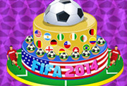 game 2014 FIFA World Cup Cake