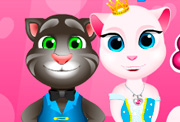 game Angela Princess Cat Care