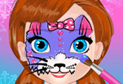 game Baby Anna Face Art