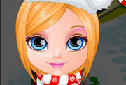 game Baby Barbie Christmas Prep