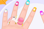 game Baby Barbie Crazy Nails