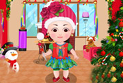 game Baby Christmas Dress Up