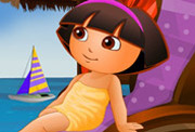 game Baby Dora At The Spa