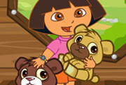 game Baby Dora Care Baby Bears