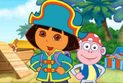game Baby Dora Sea Treasure Hunt Adventure