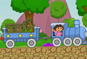 game Baby Dora Train Express