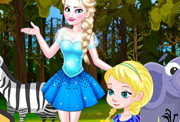 game Baby Elsa Forest Trip