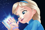 game Baby Elsa Great Manicure