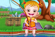 game Baby Hazel Fishing Time