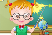 game Baby Hazel Teacher Dressup