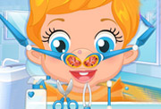 game Baby Nose Doctor Care
