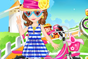 game Baby Sofia Ride Bike