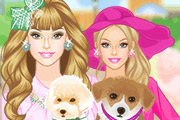 game Barbie and Puppy