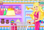 game Barbie Baby Shopping