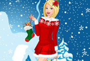 game Barbie Christmas Night