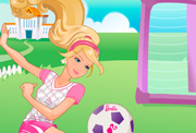 game Barbie Sport Star