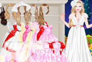 game Barbie Vintage Bride Dressup