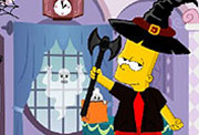 game Bart Simpson Halloween Dress Up