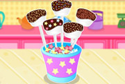 game Chocolate Dipped Marshmallows