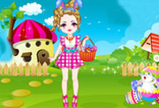 game Cute Baby Easter Day Dressup