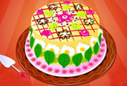 game Delicious Flower Cake