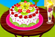 game Delicious Fruit Cake Decorating