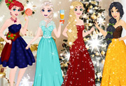 game Disney Princess Glittery Party