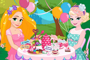 game Disney Princesses Tea Party