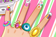 game DIY Nail Art Designs