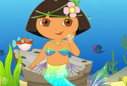 game Dora Beauty Mermaid