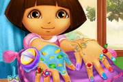 game Dora Nails Spa