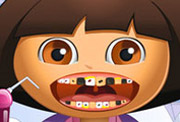 game Dora Tooth Problems