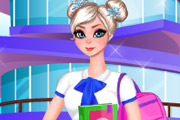 game Elsa College Outfit