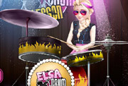 game Elsa Drum Lesson