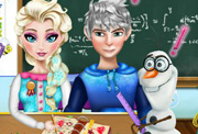 game Elsa Homework Slacking