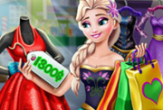 game Elsa Realife Shopping