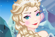 game Elsa Royal Ball Makeover