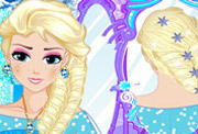 game Elsa Royal Hairstyle