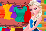 game Elsa Summer Shopping