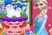 game Elsa Winter Fun