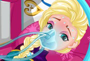 game Elsa`s Stomach Virus