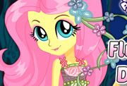 game Fluttershy Dress Up