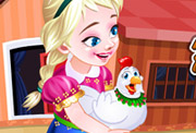 game Frozen Anna Poultry Care
