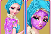 game Frozen Elsa Ice Bucket Makeover