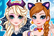 game Frozen Halloween Cute&Creepy