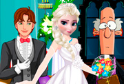 game Frozen Sisters Bride Contest