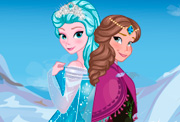 game Frozen Sisters New Wardrobe