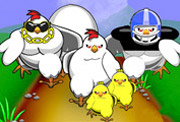 game Funky Chicken Tower Defense