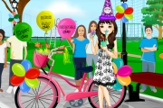 game Happy Birthday Bicycle