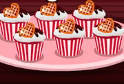 game Happy Valentines Day Red Velvet Cupcakes
